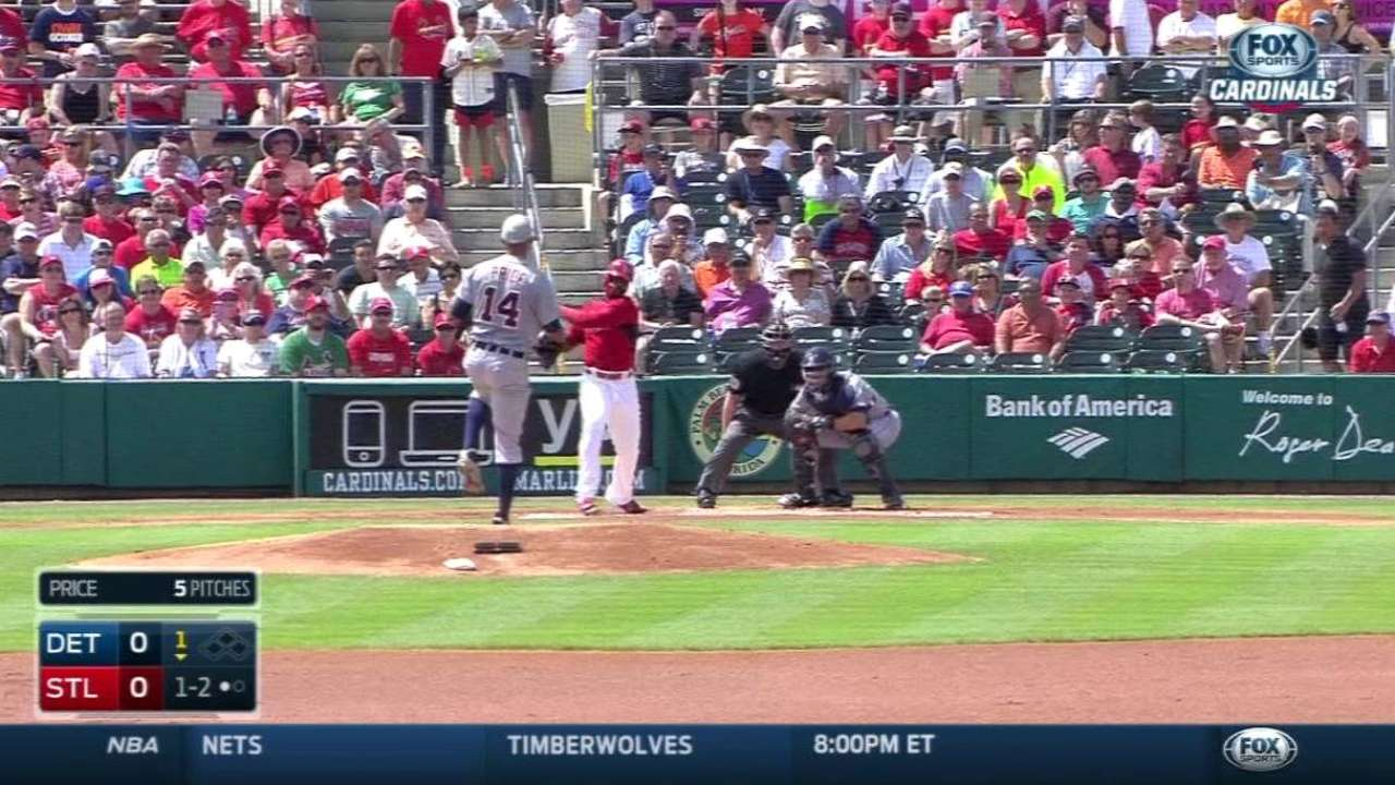 Price gets practice in damage control against Mets