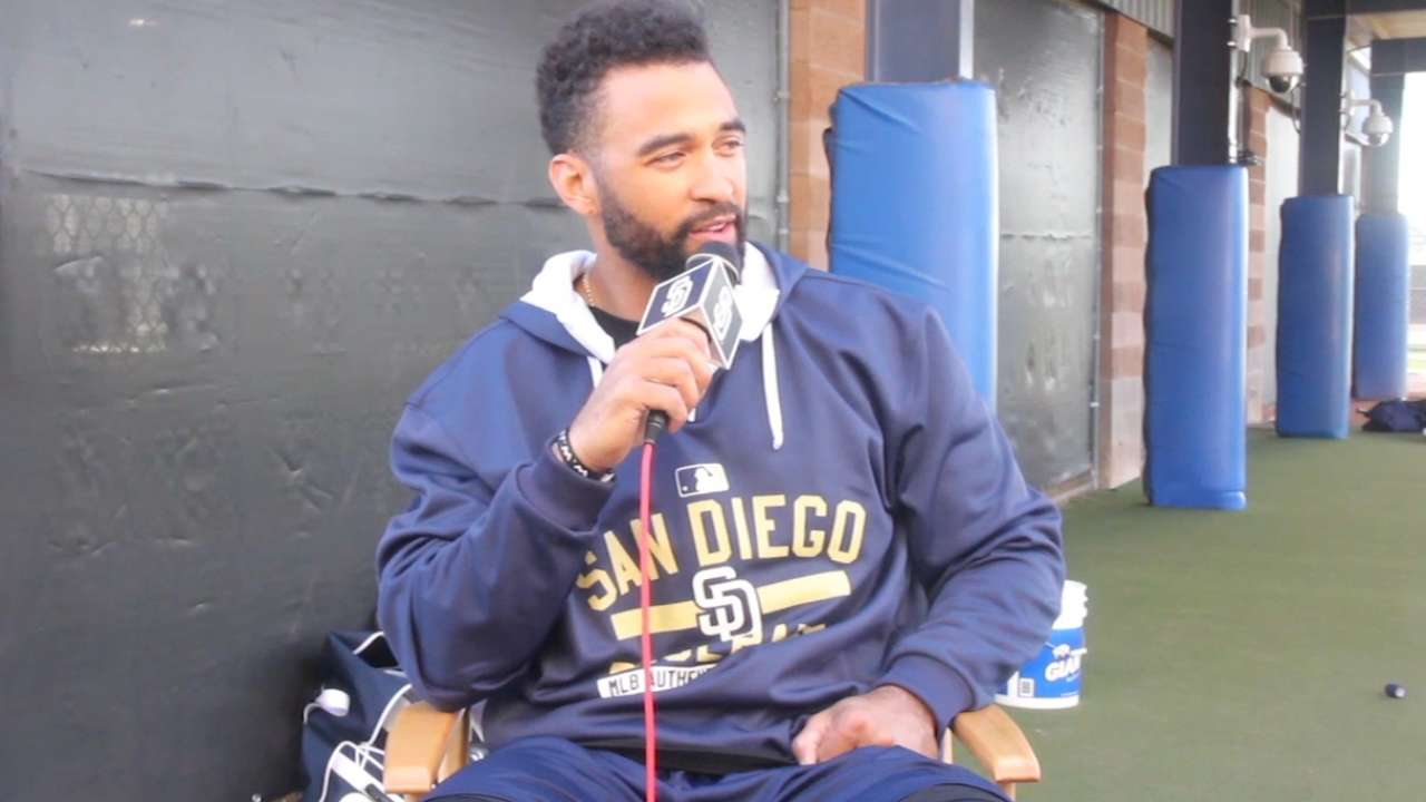 Kemp excited about spring, new teammates