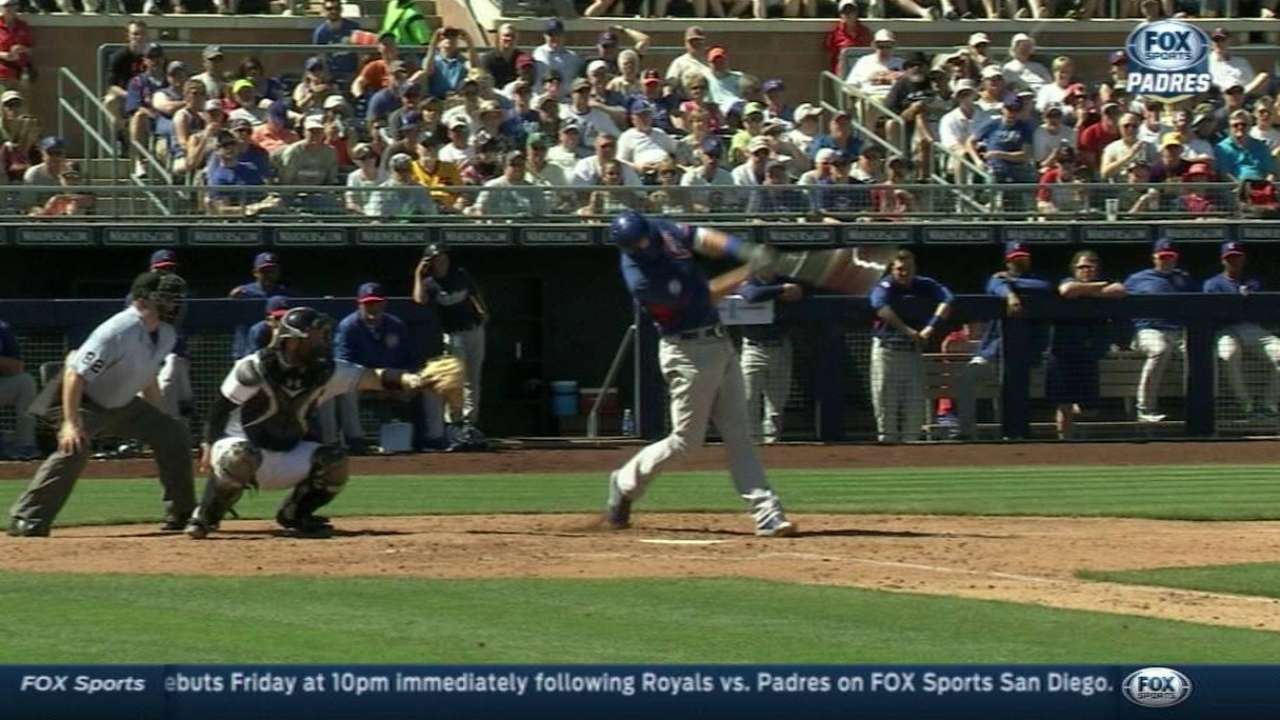 Lester scuffles in loss to Padres