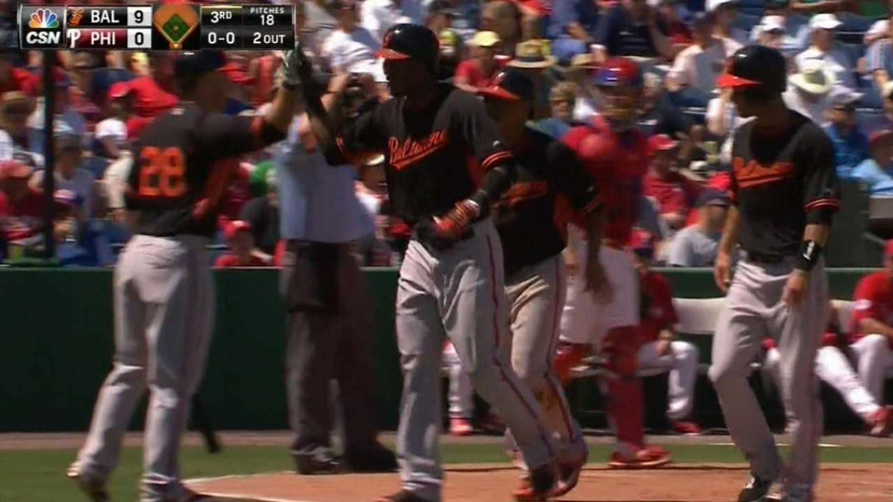 Offense has huge day in support of Gonzalez as Orioles win