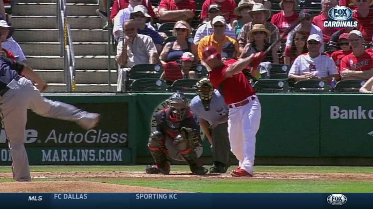Grichuk leads Cardinals with four spring homers