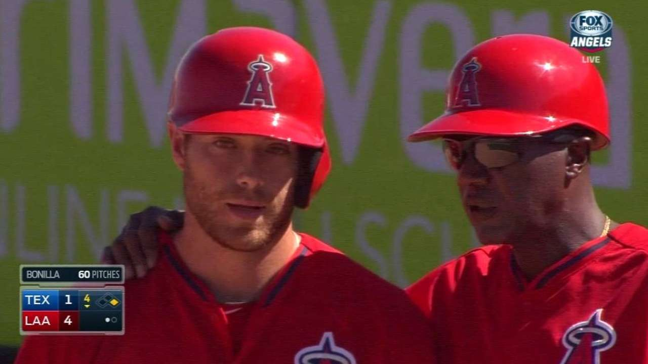 Offense key for Featherston to make Angels