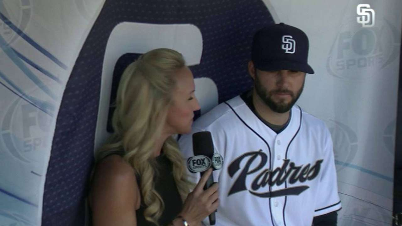 Morrow on his outing vs. Cubs