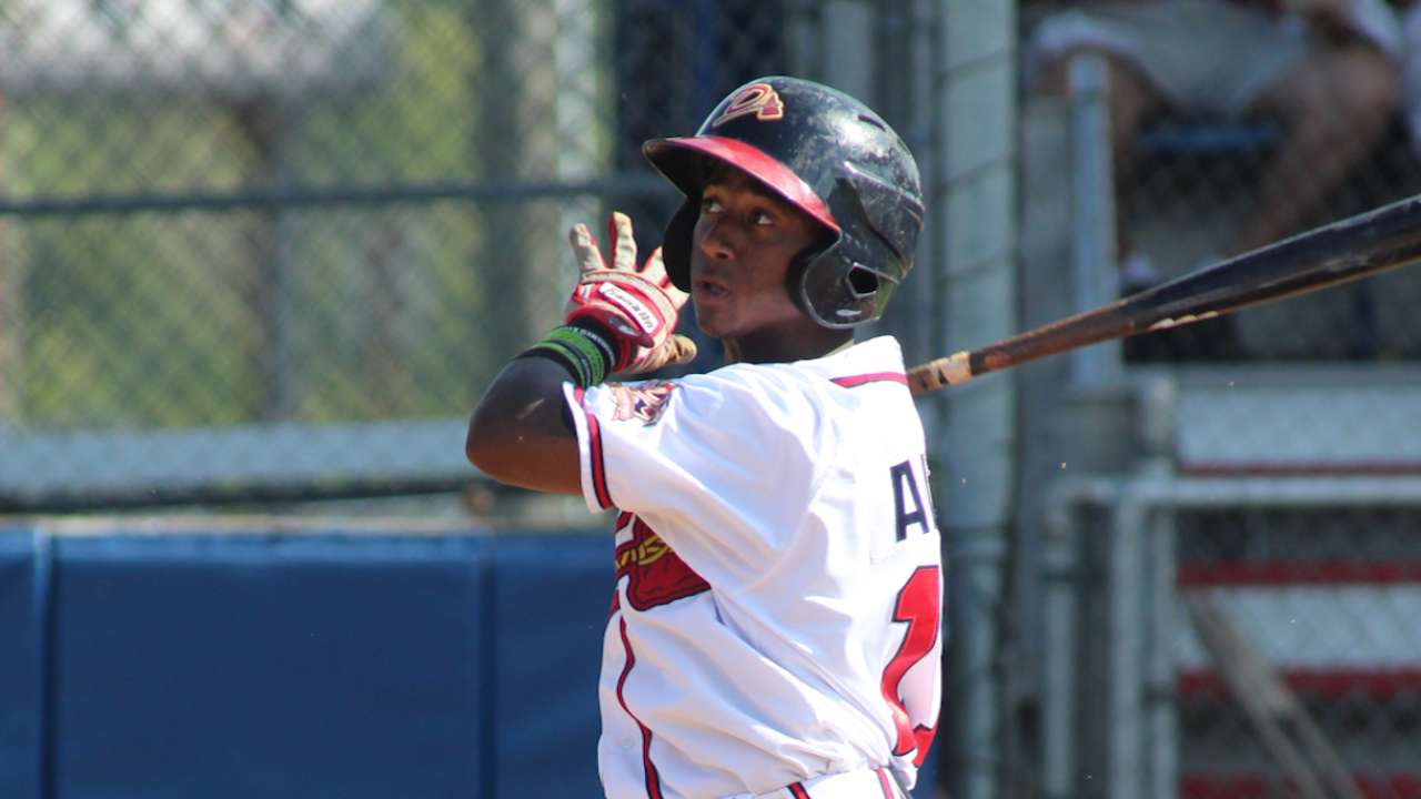 Braves top prospect Albies to miss rest of season