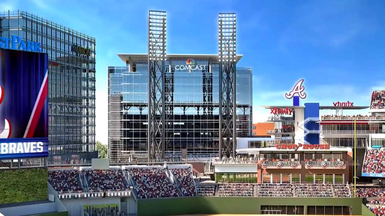 Braves finalize multiyear partnership with Comcast