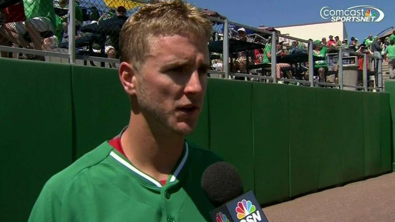 Buchanan steps up on short notice, fans six