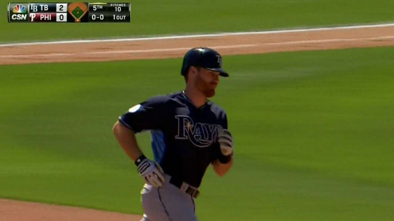 Forsythe's solo tater