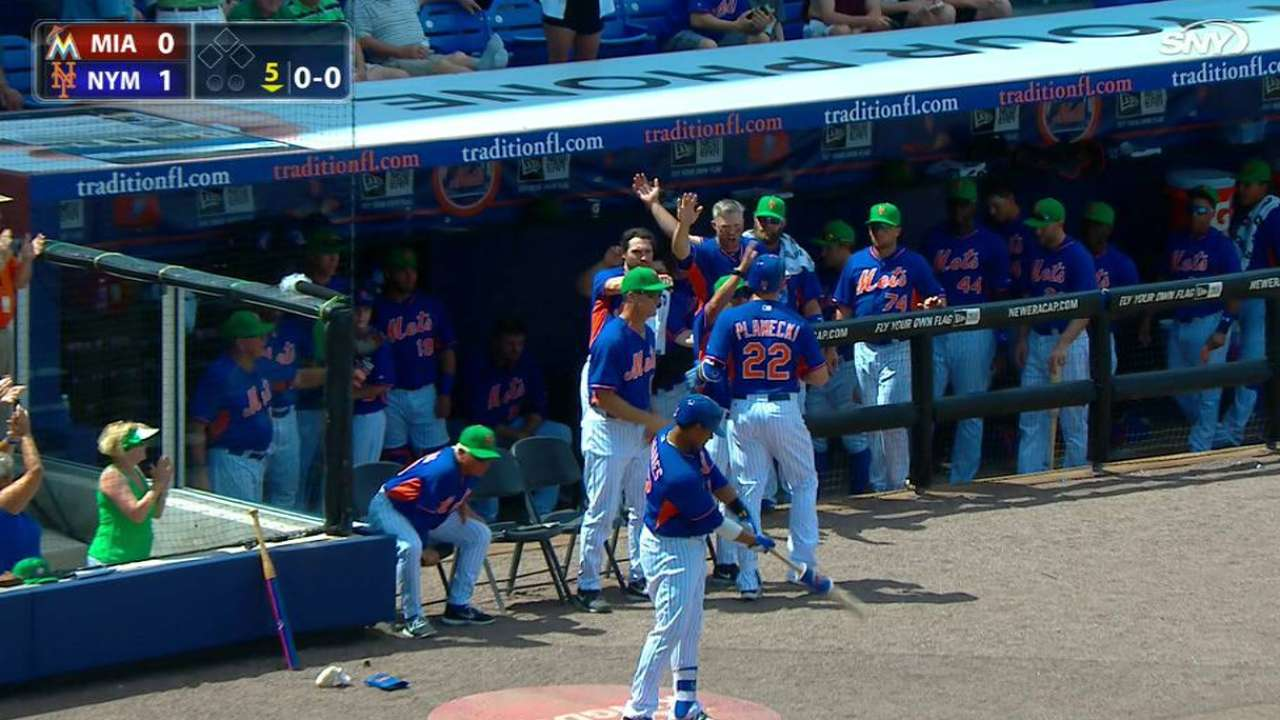 Plawecki projects as capable fill-in for Mets