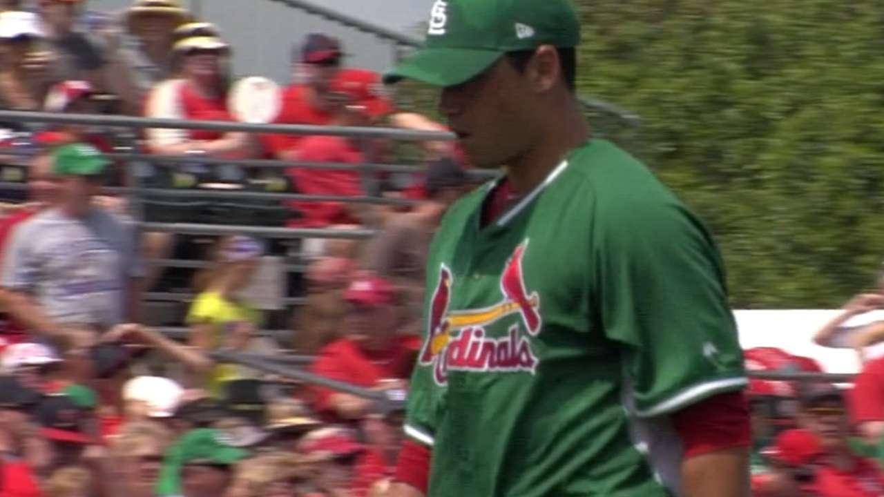 G. Garcia, 3 others cut from Cardinals camp