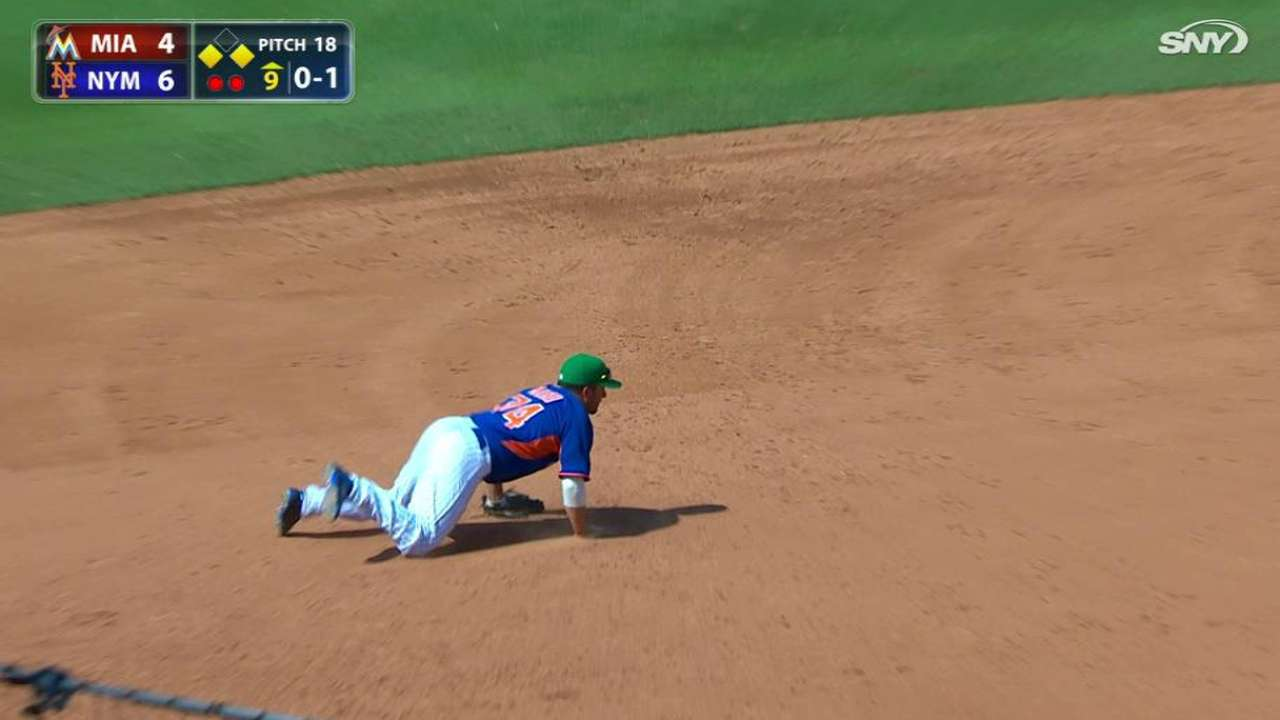 Mejia secures the save