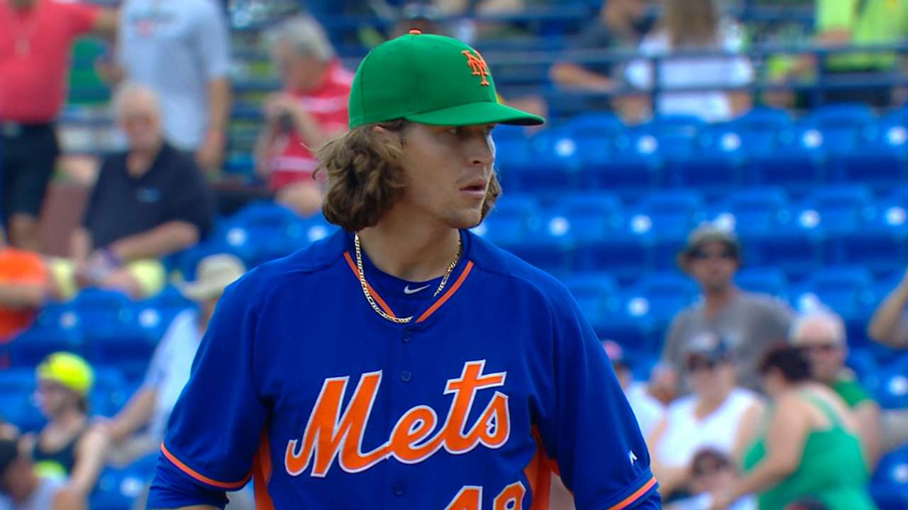 deGrom flashes award-winning form over five