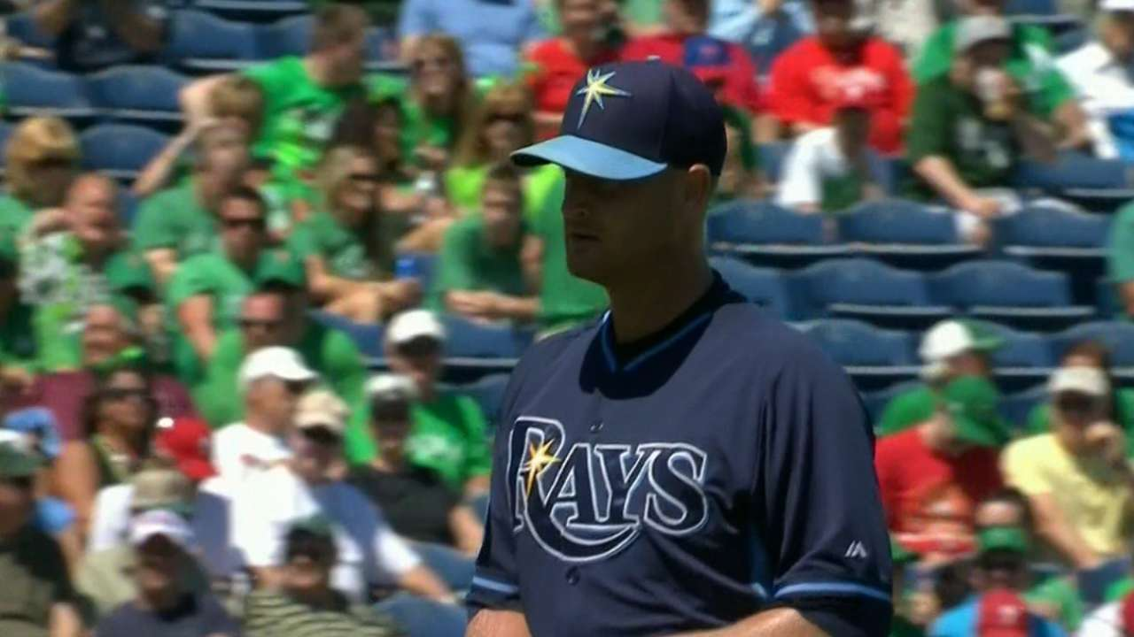 Rays' rotation depth about to be tested