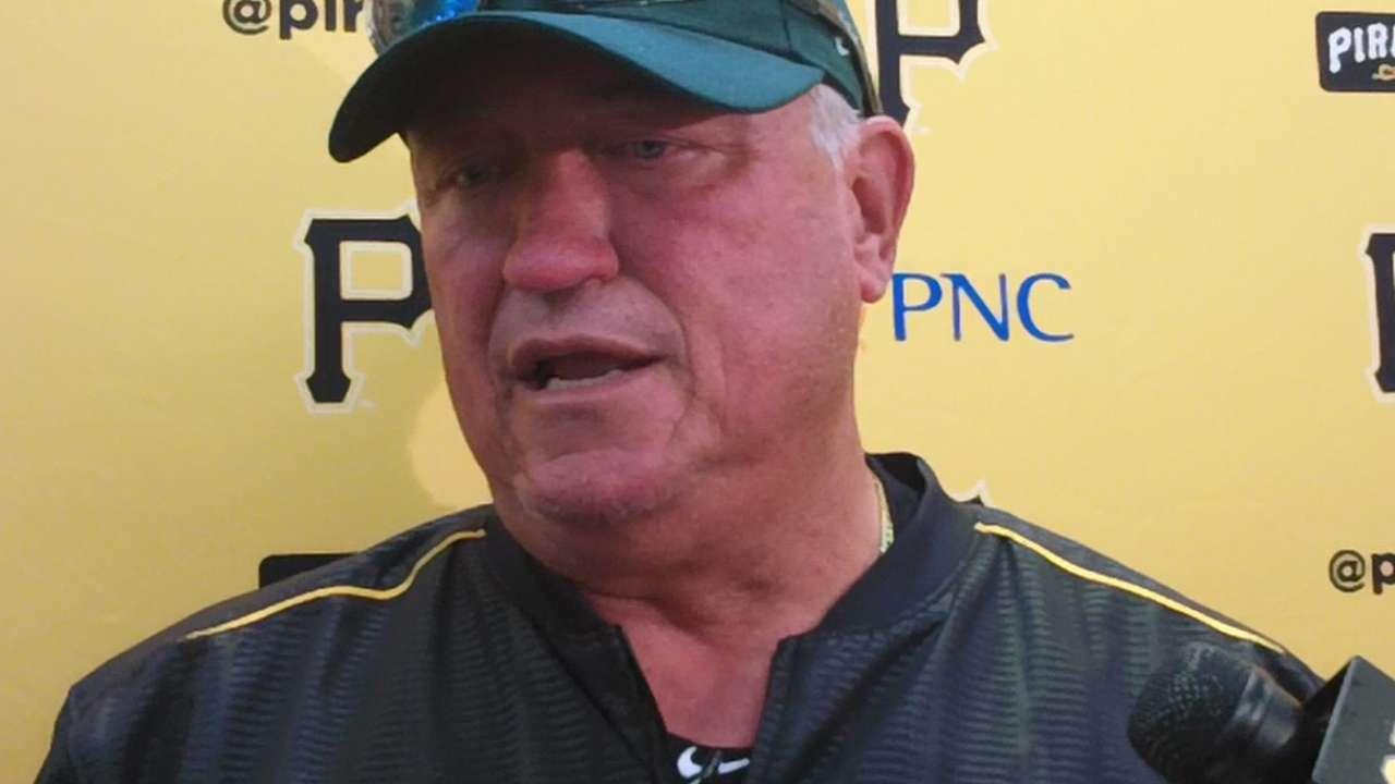 Hurdle on Opening Day starter