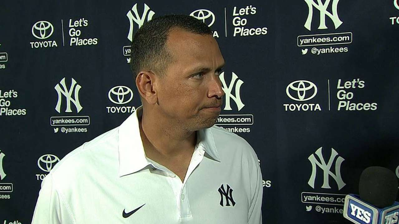 Manfred content with A-Rod's smooth return