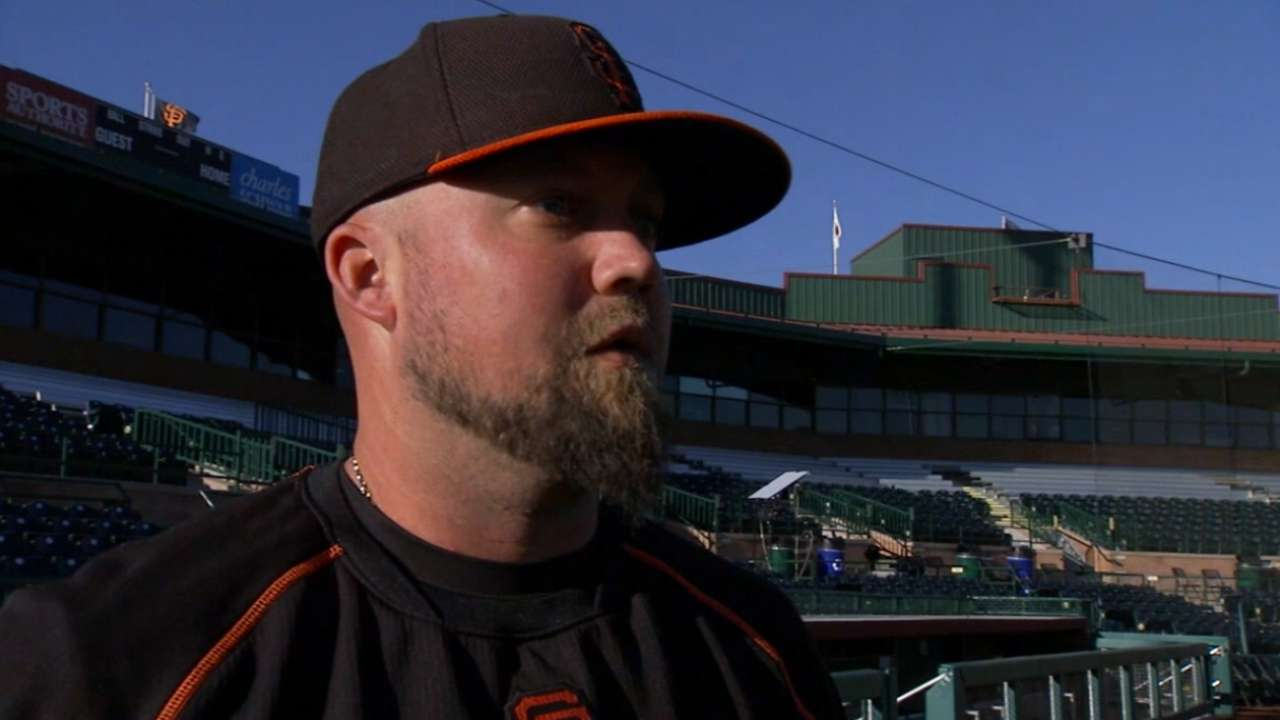 McGehee on stepping in at third