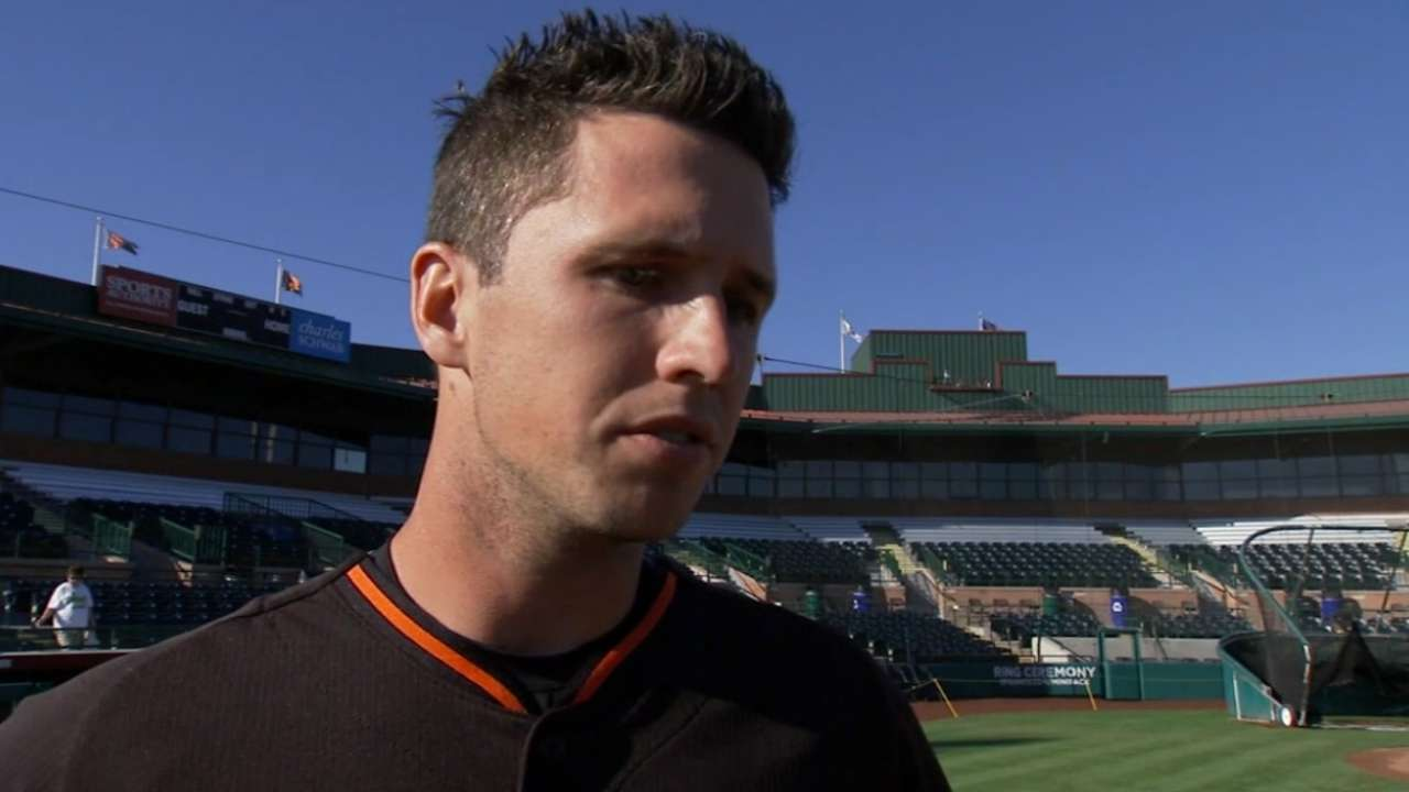 Posey on staying motivated