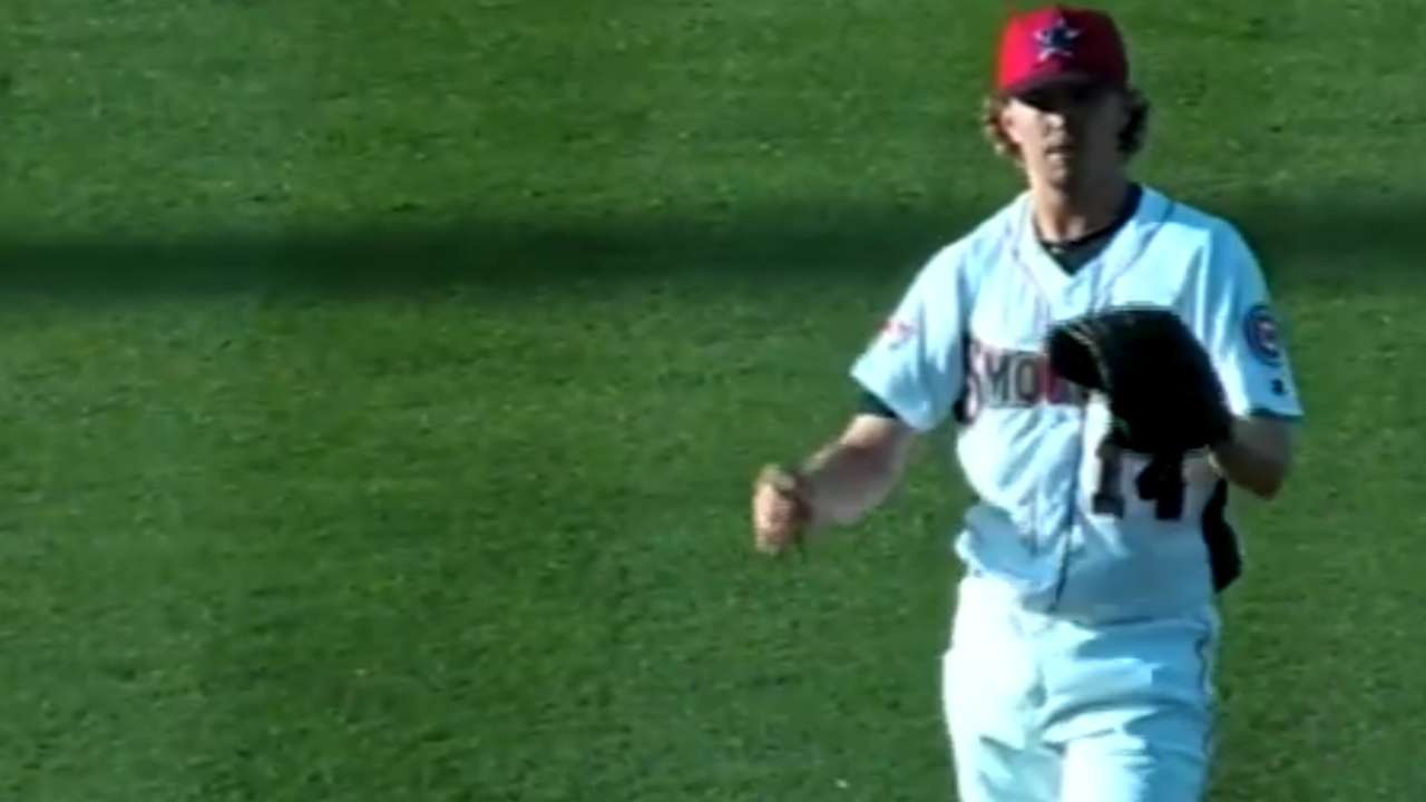 Johnson leads Mesa to win with 1-run outing
