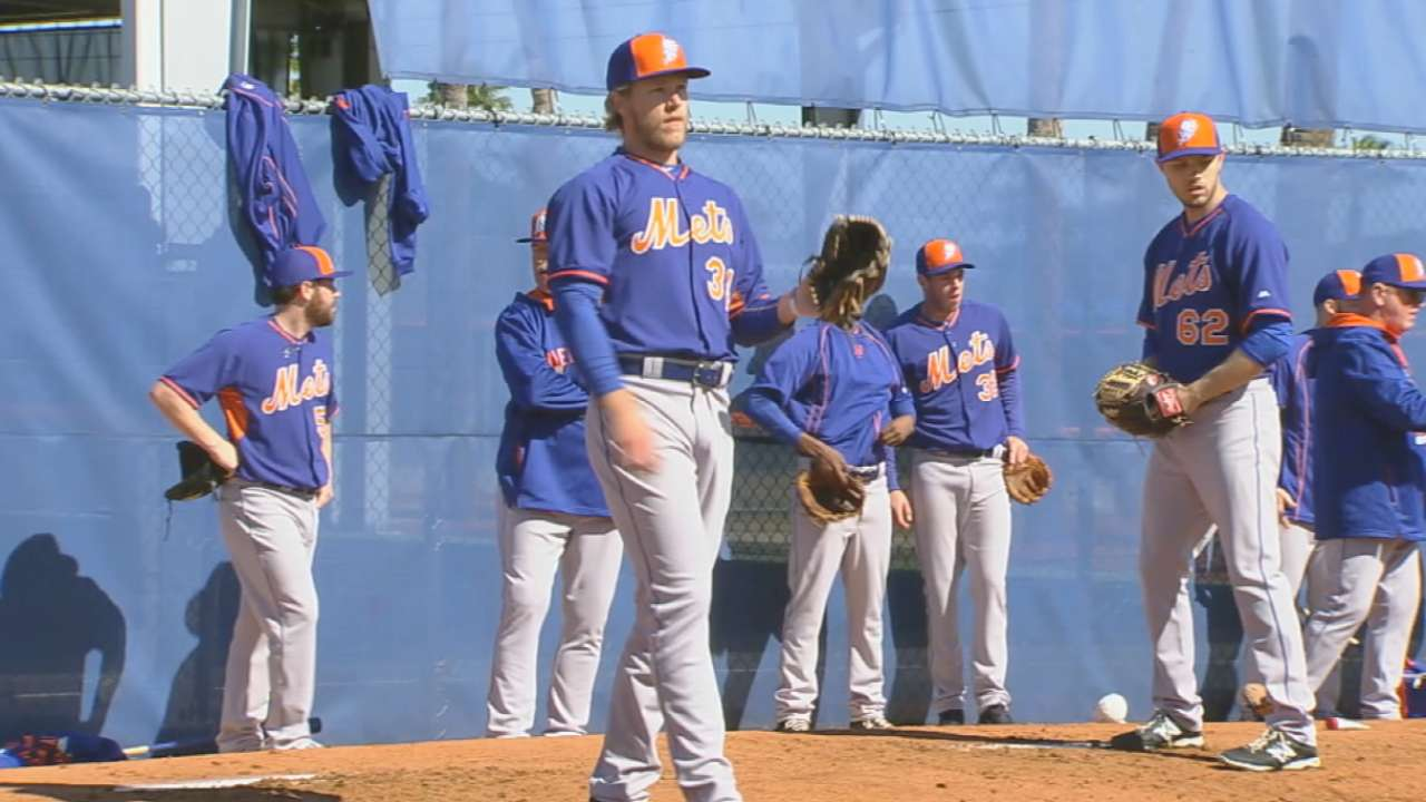 MLB Pipeline checks in from Mets camp