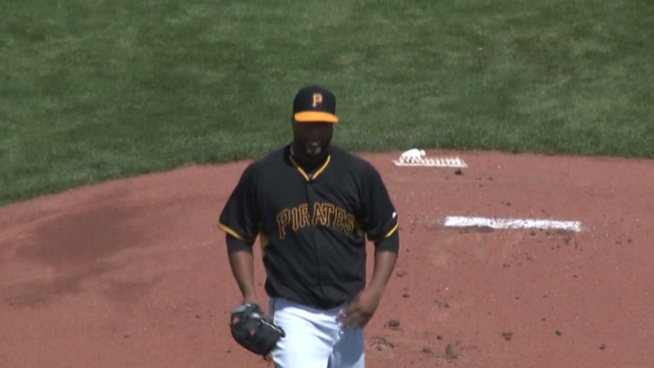 Liriano honored to take ball on Opening Day