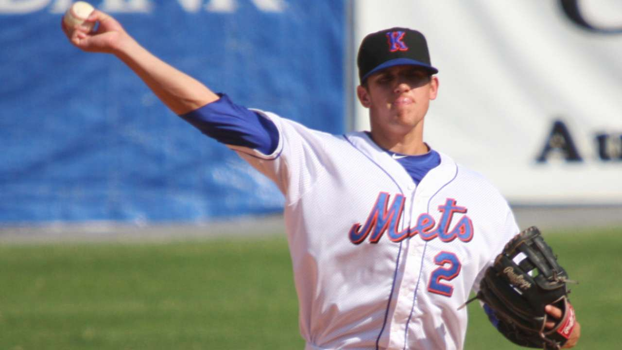Mets duo among top 10 prospect performers Sunday