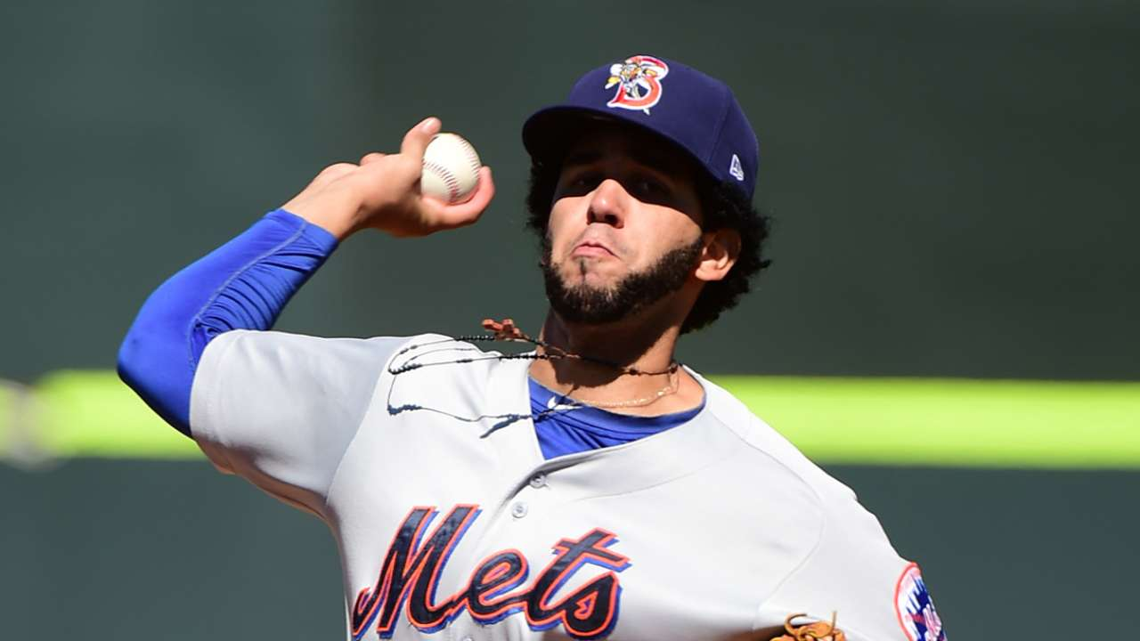 Ynoa tosses one-hitter for Binghamton