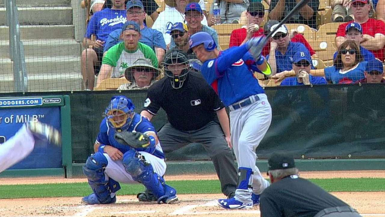 Almora's two-run double