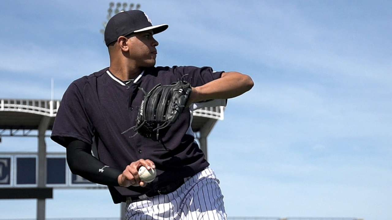 Betances has more to fix in Spring Training