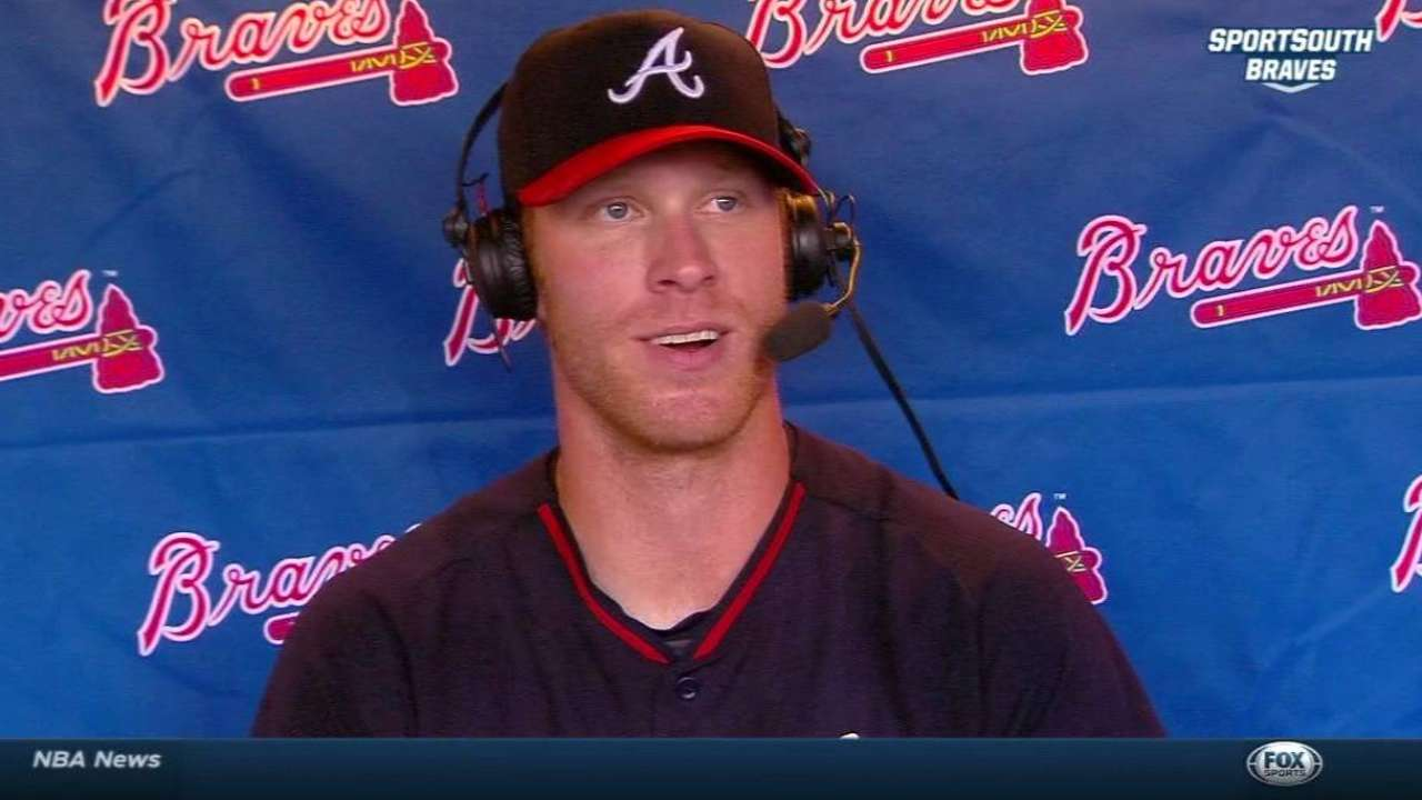 Foltynewicz stops pressing, gets 'confidence booster'