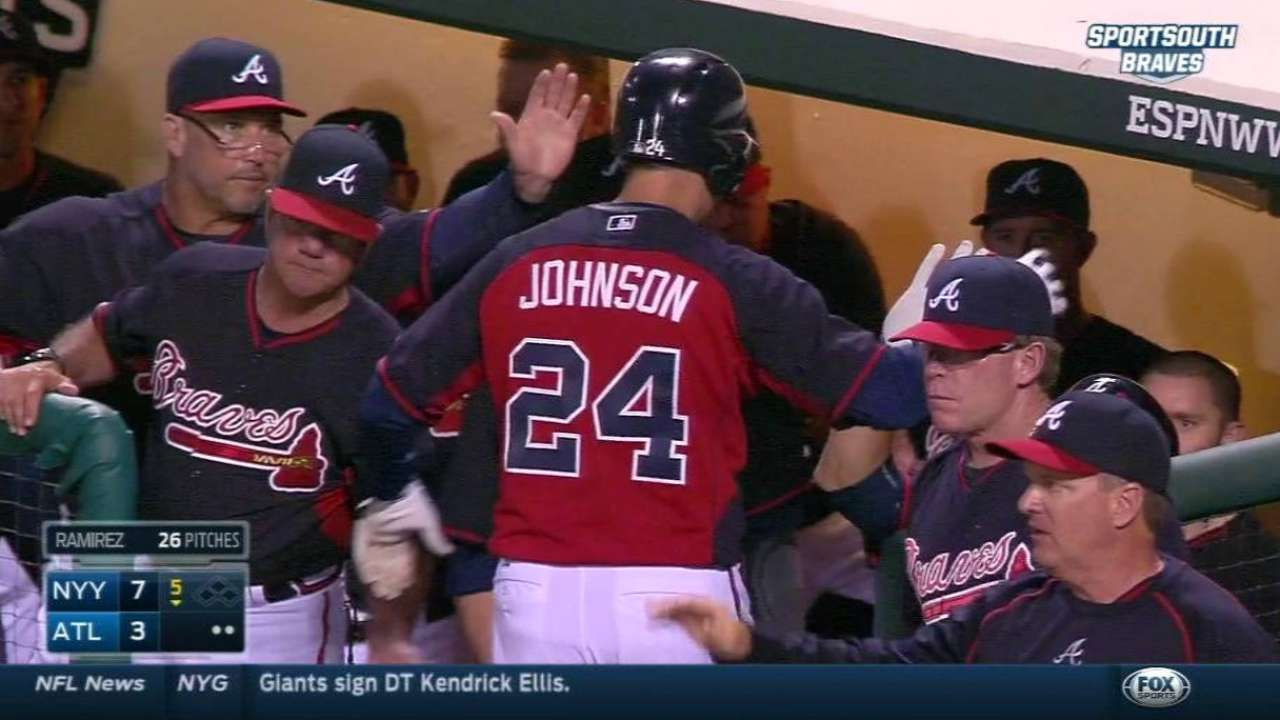 Russell hit hard in relief of solid Foltynewicz vs. Yankees