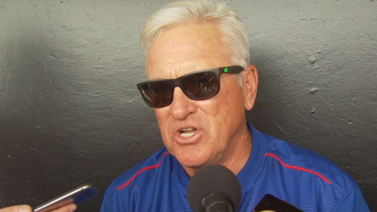 Maddon urges patience in honest chat with Bryant