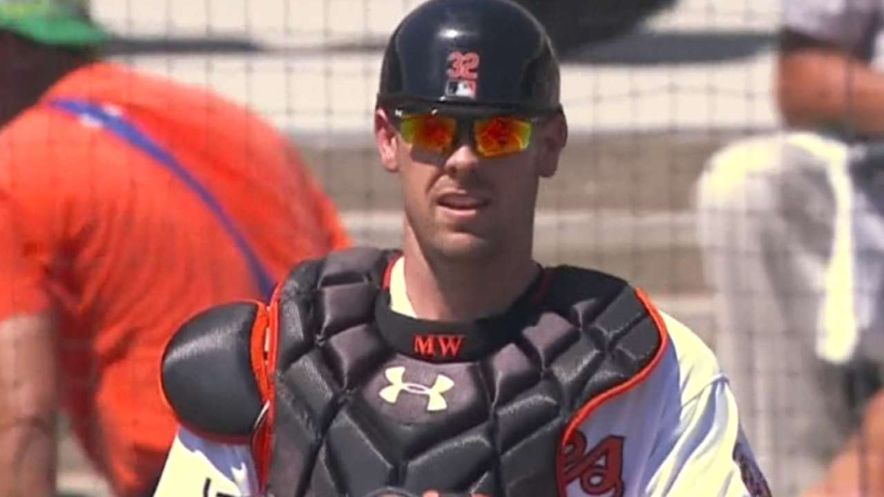 Showalter on Wieters: Opening Day unlikely