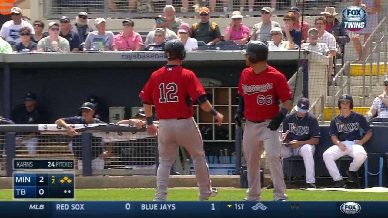 Fryer's two-run double