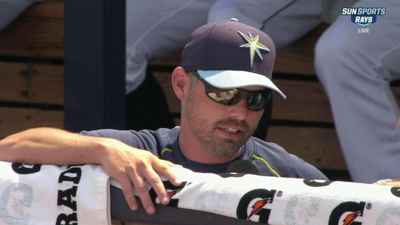 Cash discusses Rays' spring