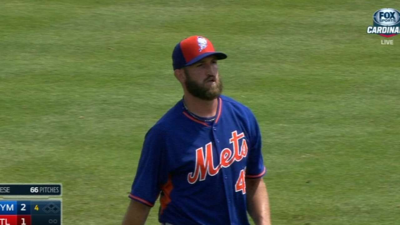 Niese strikes out six