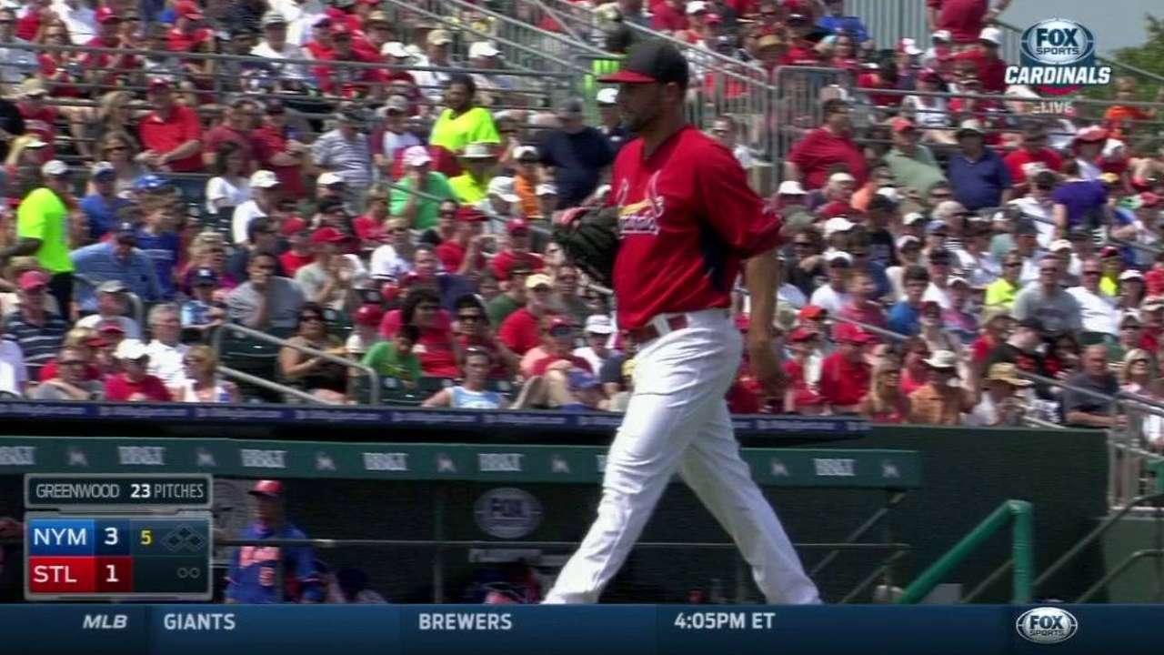 Greenwood, Tuivailala among 6 pitchers sent down