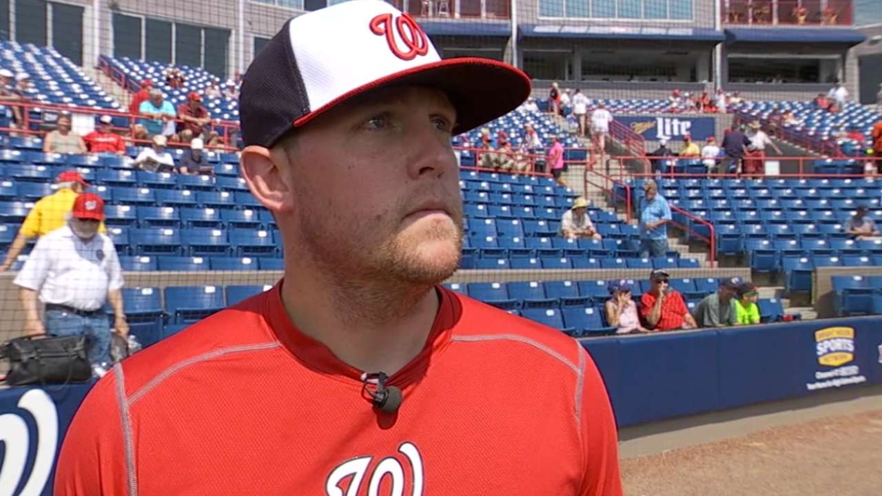 Storen passes test in return from hand surgery