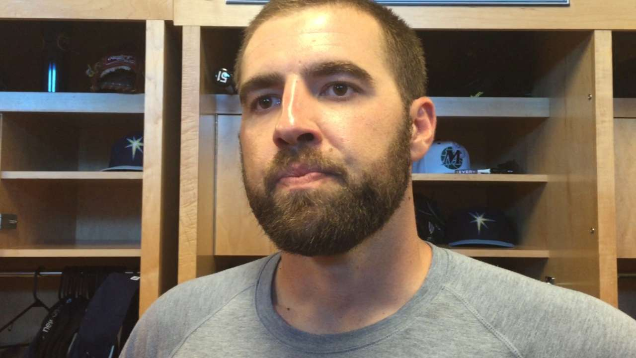 Rays impressed with Karns' strong spring
