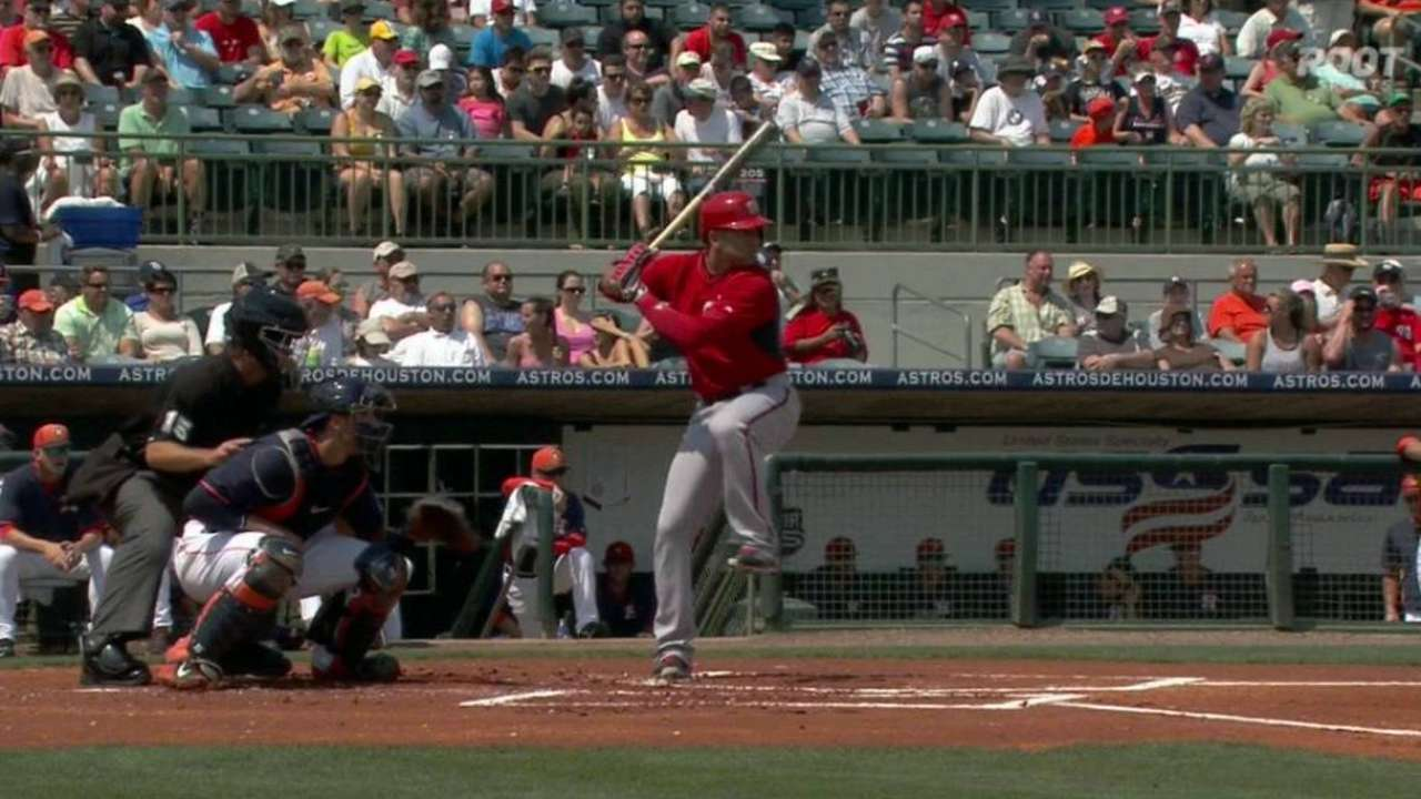 Espinosa's RBI double