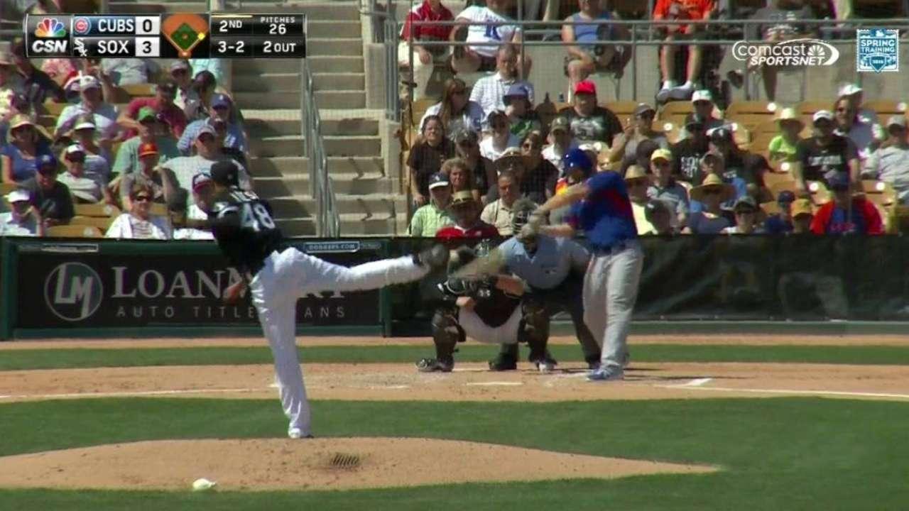 Ross' two-run homer