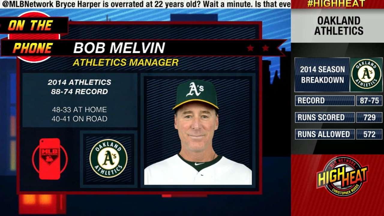Melvin prepares for 2015