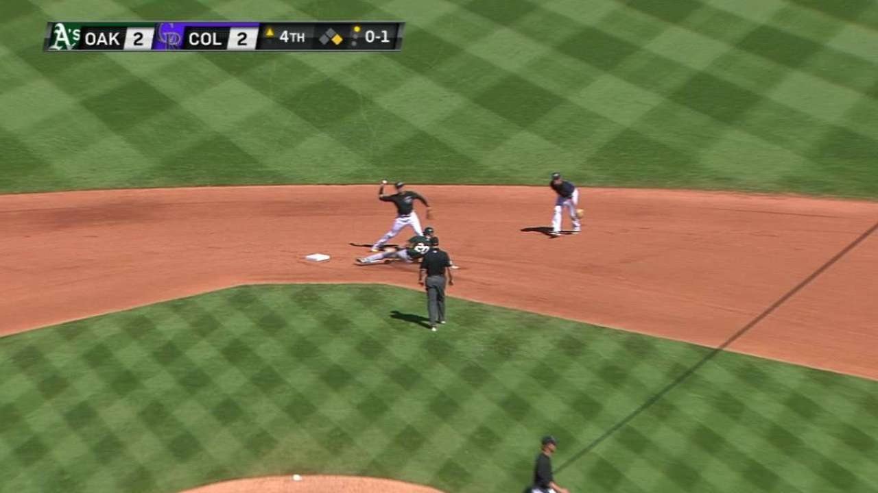 Butler induces double play