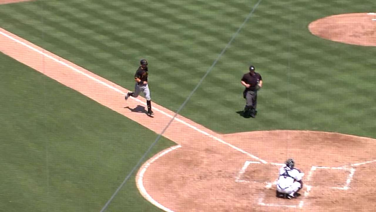 Cervelli's two blasts back solid Cole, carry Pirates