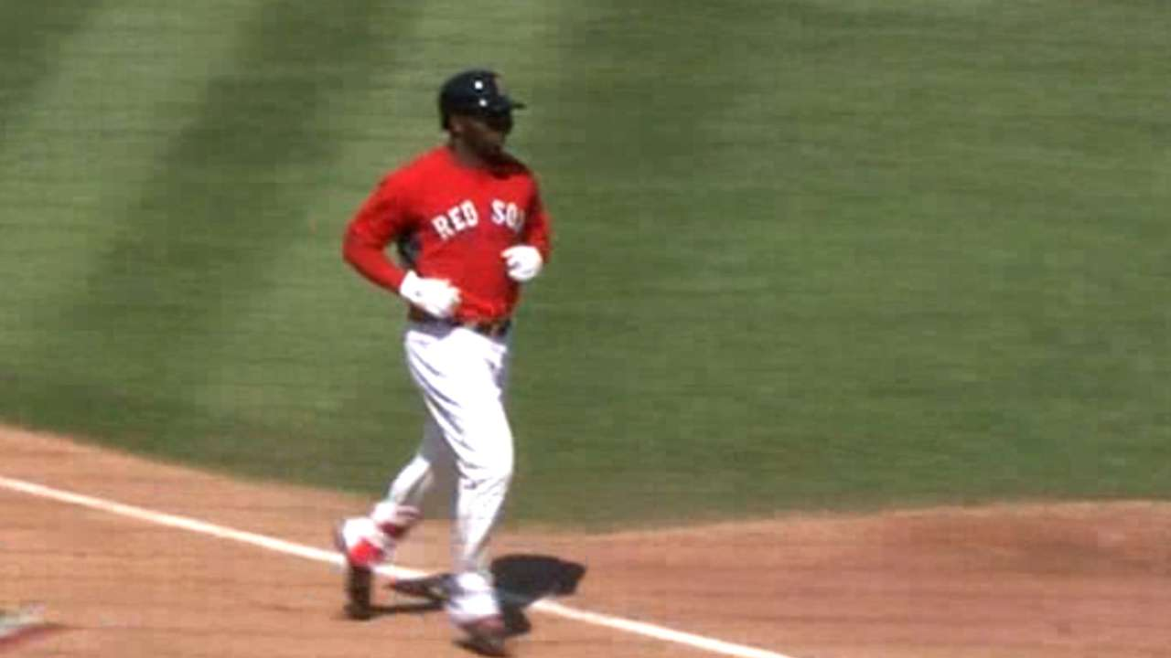 Castillo's three-run homer