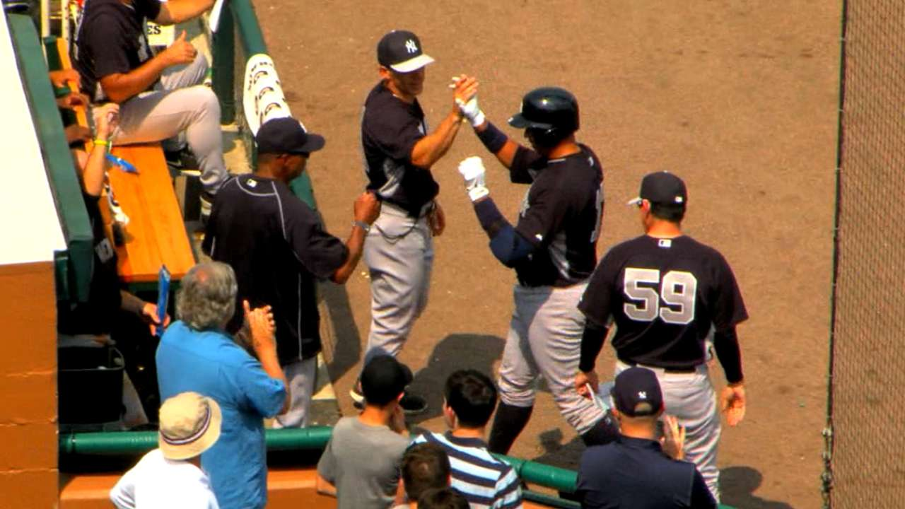 A-Rod's second spring homer