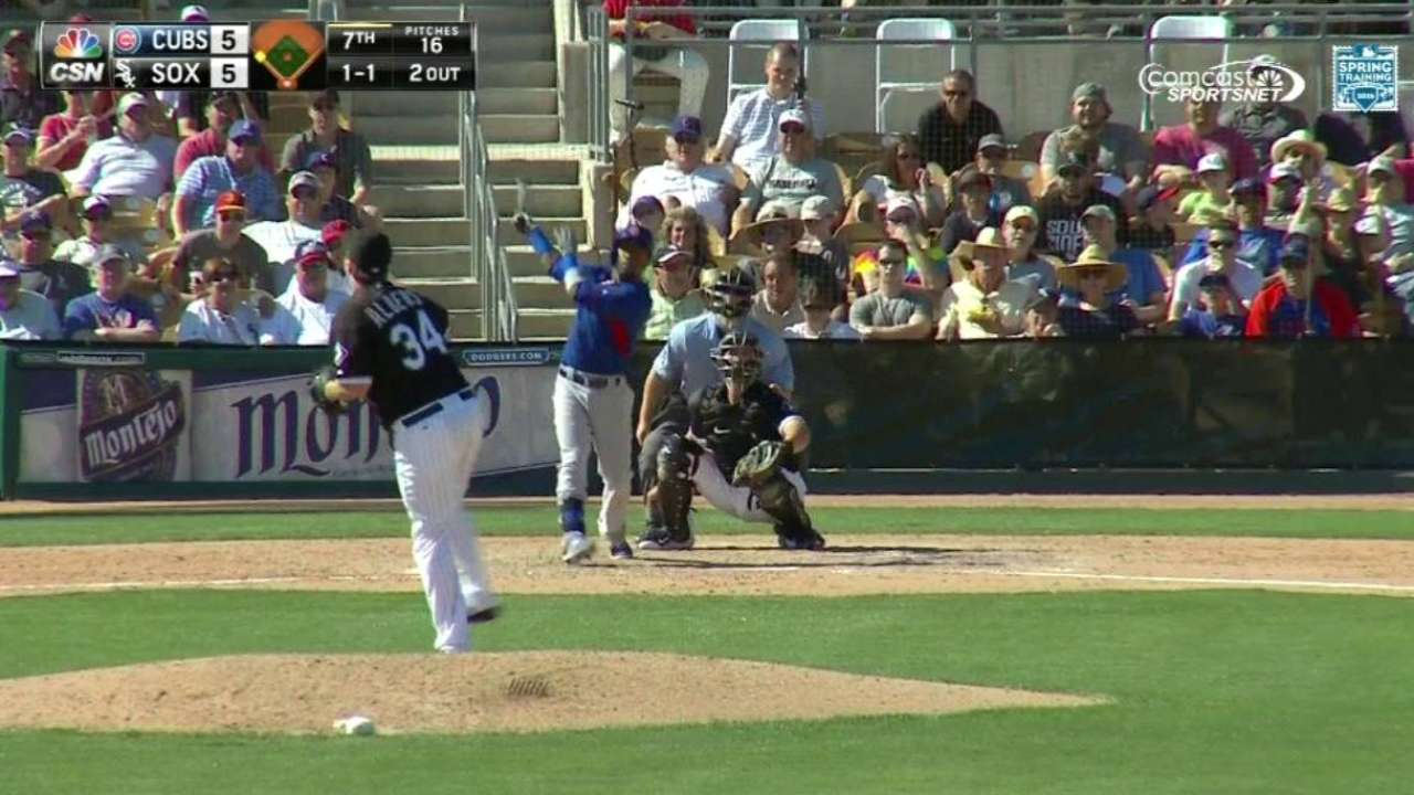 Cubs put on power display with 4 HRs in win over White Sox