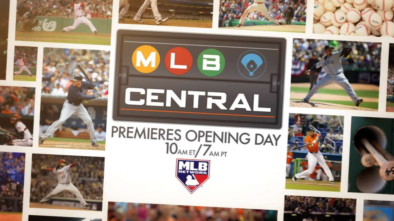 MLB Network to debut new morning show on Opening Day