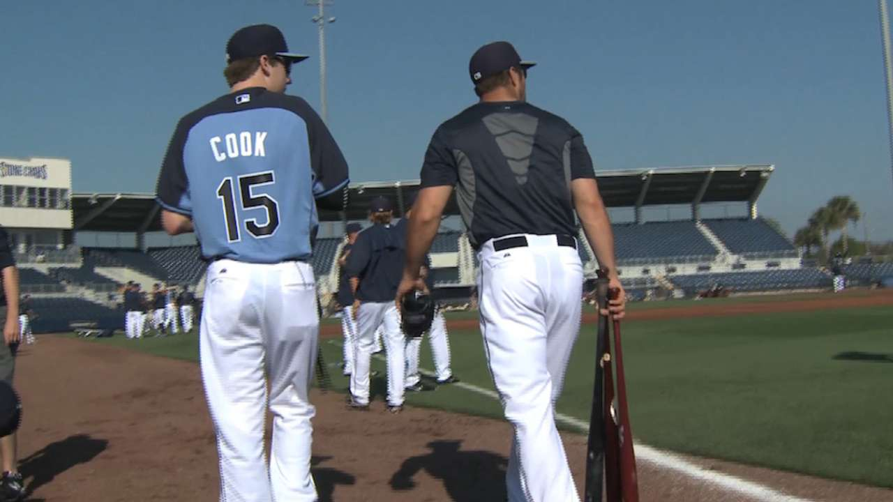 Rays host special Make-a-Wish guest