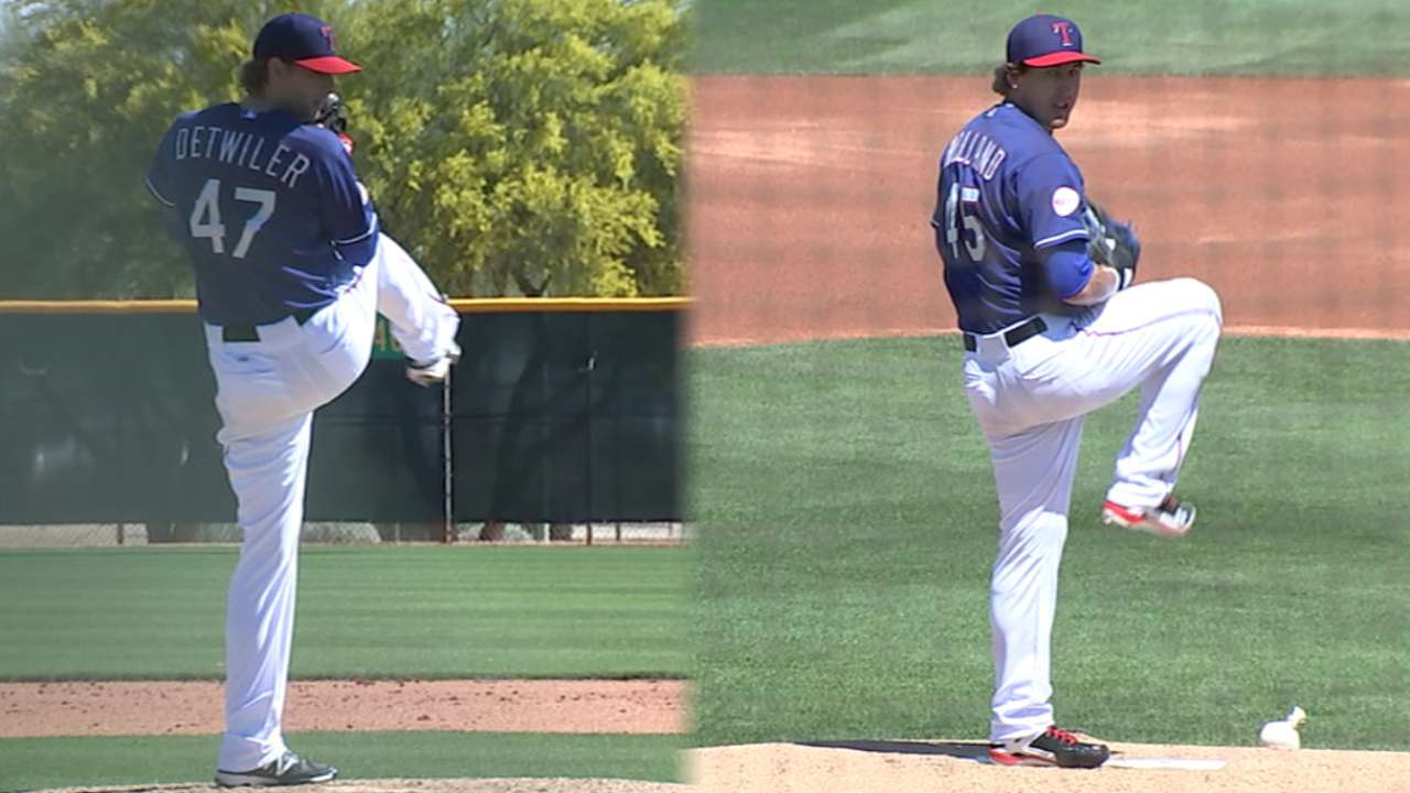 Detwiler appears to be rotation lock, but other battles continue