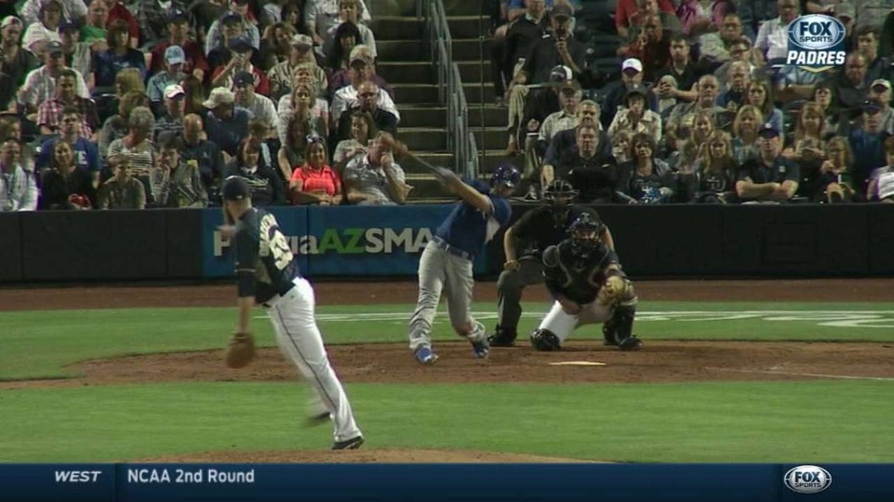 Young adds to solid spring, Hosmer fuels offense in win