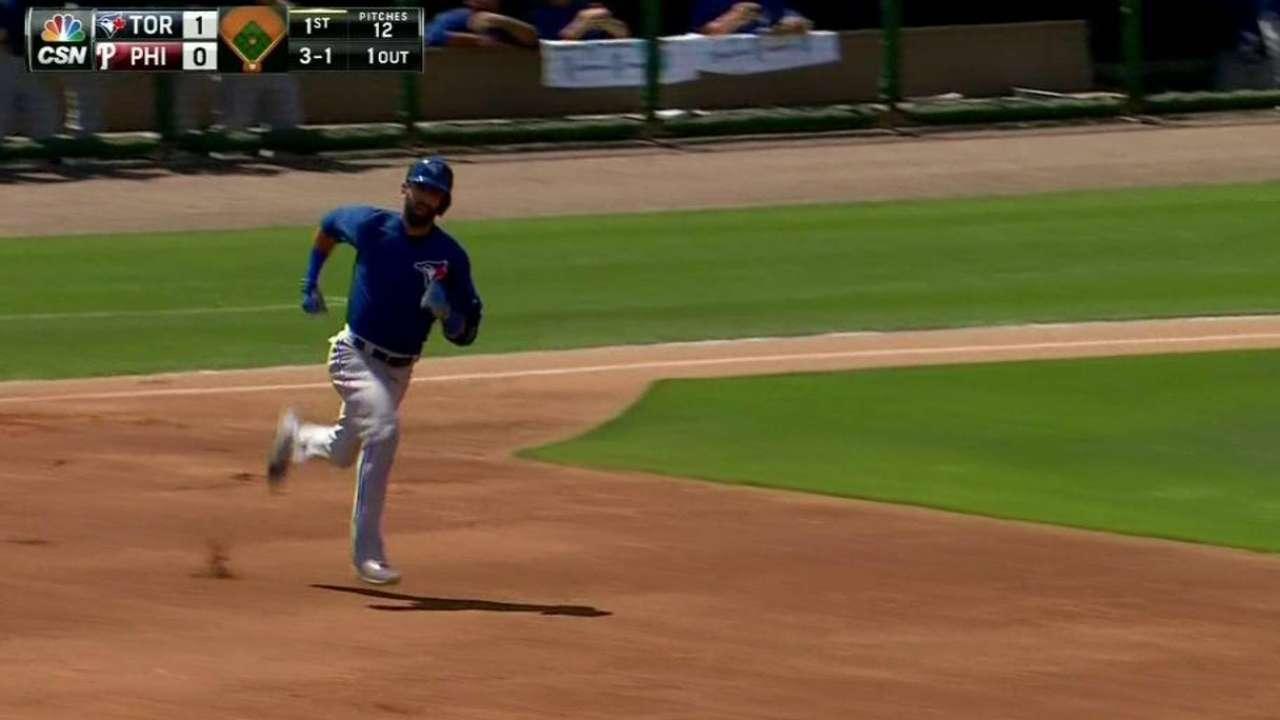Bautista's towering home run